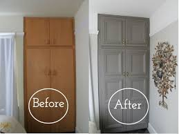 Painting Kitchen Cabinets Before And After by Best 25 Wardrobe Makeover Ideas On Pinterest Closet Remodel