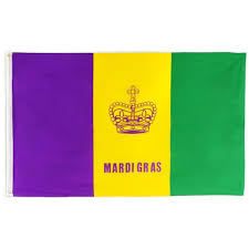 Wall Mount Mailbox With Flag Mardi Gras Flags Mardigrasoutlet Com