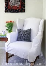 Small Wing Chairs Design Ideas Wing Chair Slipcover Design Ideas 91 In Bar For