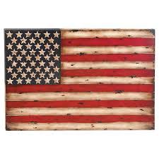 decmode american flag wall sculpture hayneedle