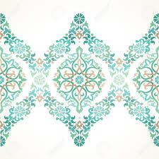 Border Designs For Birthday Cards Vector Ornate Seamless Border In Eastern Style Floral Element