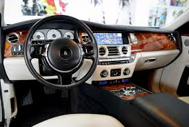 roll royce car inside rolls royce ghost interior luxury u0026 exotic car rental
