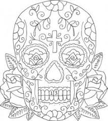 coloring pages tattoos american hippie art coloring pages sugar skull tattoo