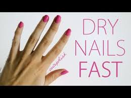 5 ways to dry your nails fast