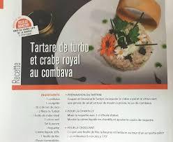 article de cuisine article cuisine magazine recette du chef nicolas marcou cv