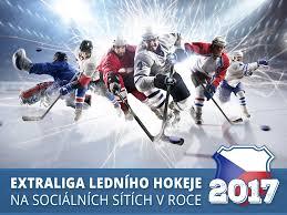 infografika české hokejové kluby na sociálních sítích v roce 2017