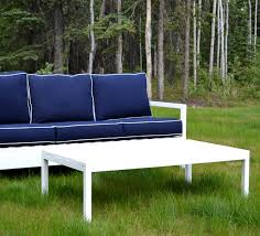 outdoor coffee table height ana white simple white outdoor coffee table diy projects