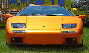 lamborghini diablo orange lamborghini diablo orange front