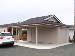 Carport Designs Plans A Garport Half Garage Half Carport Get More Information About