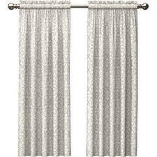 Black And Cream Damask Curtains Damask Ivory And Cream Curtains U0026 Drapes You U0027ll Love Wayfair