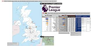 Hull England Map by 2016 U201317 Premier League 1st Division England Including Wales