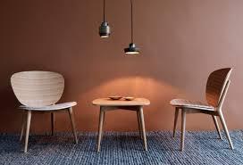 scandinavian furniture apartment natural wood and monochrome