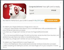 order gift cards how do i order a target gift card pulse