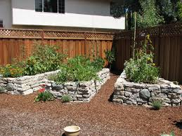 Retaining Wall Garden Bed by Reusing Broken Concrete For Retaining Wall Garden Pinterest