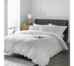 Argos Bed Sets Buy Of House Blue Stripe Seersucker Bedding Set Kingsize