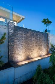 25 best ideas about wall waterfall on pinterest water company alka pool this impressive water wall acts as a water feature bringing an added elegance outdoor waterfallswall waterfallpatio ideaslandscaping