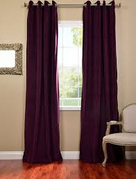 Wine Colored Curtains Curtains And Drapes Velvet Decorate The House With Beautiful