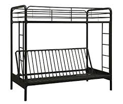 White Futon Bunk Bed Dorel Home Products Futon Bunk Bed