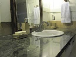 Bathroom Vanity Countertops Ideas by Appealing Quartz Bathroom Vanity Tops With White Sink Ideas
