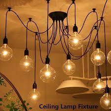 Edison Ceiling Light Edison Chandelier Ebay