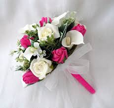 wedding bouquets online special order for artificial wedding flowers 1327 p jpg