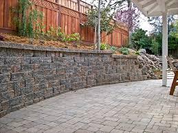 garden wall retaining wall