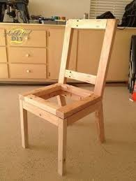 Dining Chair Plans Diy Wingback Dining Chair U2013 How To Build The Chair Frame Dining