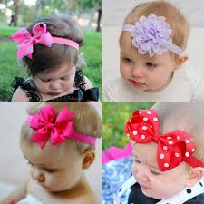 toddler hair bows headband baby girl hair bow newborn elastic hair band kids