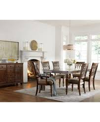 crestwood 7 piece dining room furniture set dining table and 6