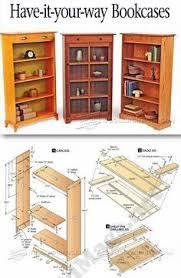 revolving danner inspired bookcase woodworking plan popular in