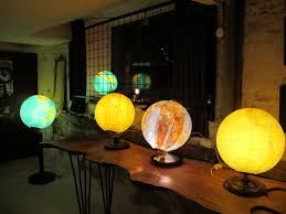World Globe Light Fixture by Vintage World Globes Ground Floor Productions