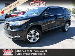 suv toyota 2015 gettel toyota of bradenton vehicles for sale in bradenton fl 34207