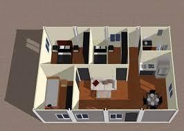 disposition de chambre disposition du bâtiment de maisons modulaires de chambre à coucher