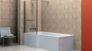 shower awesome one piece corner shower bathroom recommended