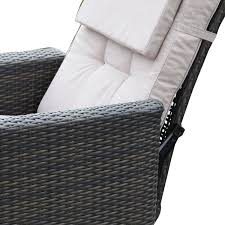 Wicker Rattan Patio Furniture - joveco wicker rattan outdoor reclining adjustable garden backyard