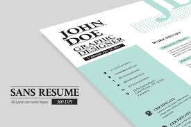Portfolio Folder For Resume Sans Resume Cover Letter Portfolio Resume Templates Creative