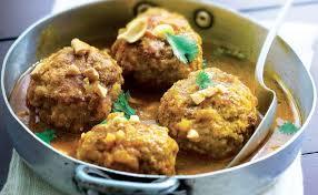 cuisiner avec du gingembre recette boulettes de porc au curry