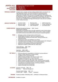 Sample Business Manager Resume by Business Development Manager Cv Manager Personal Summary Writing