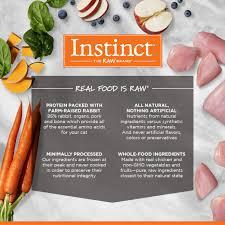 instinct raw frozen medallions farm raised rabbit recipe