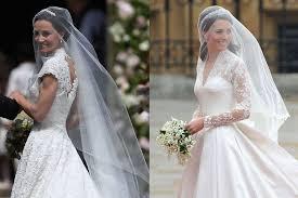 kate middleton wedding dress pippa middleton and kate middleton wedding dresses similarities