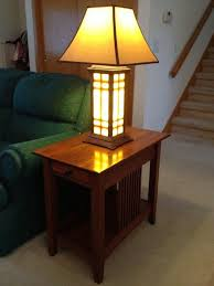 end tables with built in lamps outdoor patio tables ideas