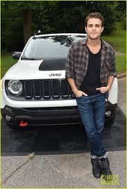 new jeep renegade paul wesley celebrates new jeep renegade with x ambassadors
