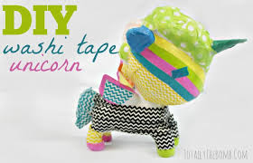 what is washi tape a washi tape unicorn