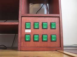 Panel Desk Diy Desk Cabinet And Power Switch Panels