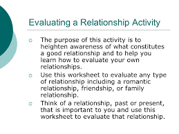 Healthy And Unhealthy Relationships Worksheets Healthy Relationships Ppt
