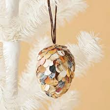pretty ornaments made from paper