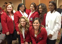 pearland isd students win cosmetology medals at state contest