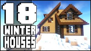 18 minecraft winter houses download youtube