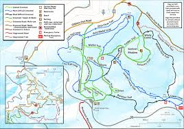 Bitterroot Mountains Map Cliff U0027s Salmon Id General Xc Ski Page