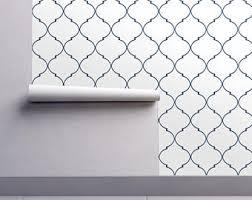 trellis wallpaper etsy